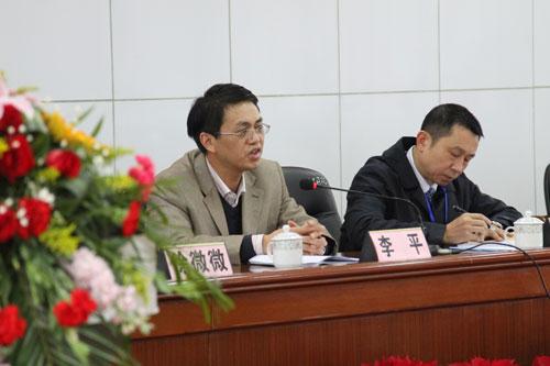 市工会副书记李平发表讲话