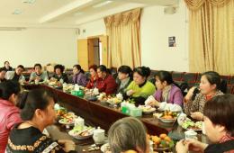 我院举行2012年退休职工新春茶话会