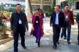 市卫生健康委员会党组书记、主任李传杰到市工人医院调研