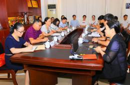 自治区人类辅助生殖技术工作组到我院开展调研和交流学习