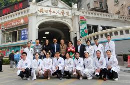 海内外眼科专家到梧州市工人医院开展疑难病例指导与教学