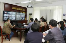 我院顺利承办梧州市中国卒中急救地图APP发布视频会议