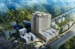梧州市工人医院门诊住院综合楼主体结构封顶!