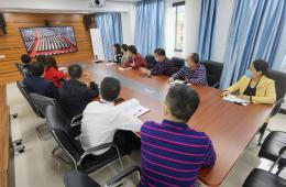 梧州市工人医院组织收看全国脱贫攻坚总结表彰大会